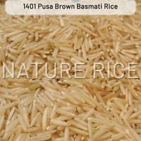 Pusa 1401 Brown Raw Basmati Rice