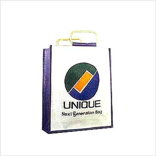 Jute Digital Print Shopping Bag