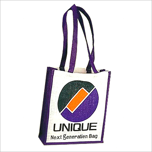 Jute Printed Shopping Bag