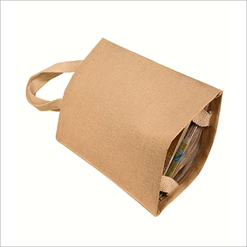 Jute Brown Shopping Bag