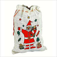 Jute Christmas Packaging Bags