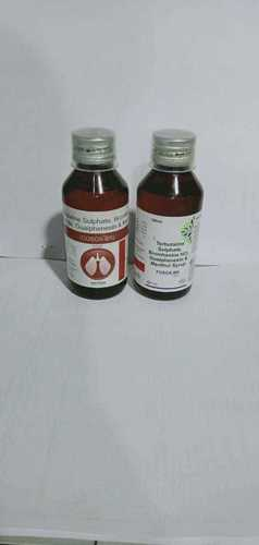 Terbutaline Sulphate + Bromhexine Hcl + Menthol Syrup