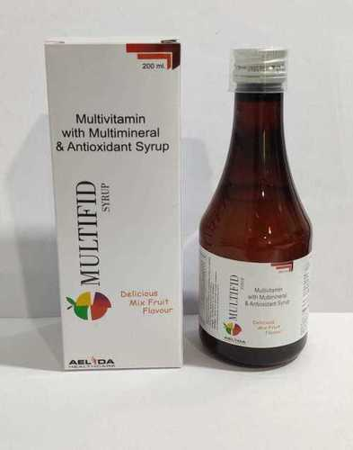 Multivitamin  With Multimineral & Antioxidant Syrup