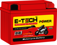 ERC E-TECH POWER 4 LB Self Start Motorcycle (100cc - 110cc)