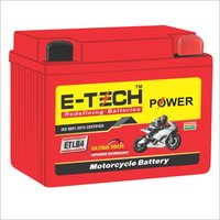 ERC E-TECH POWER 4 LB Self Start Motorcycle (100cc - 110cc)