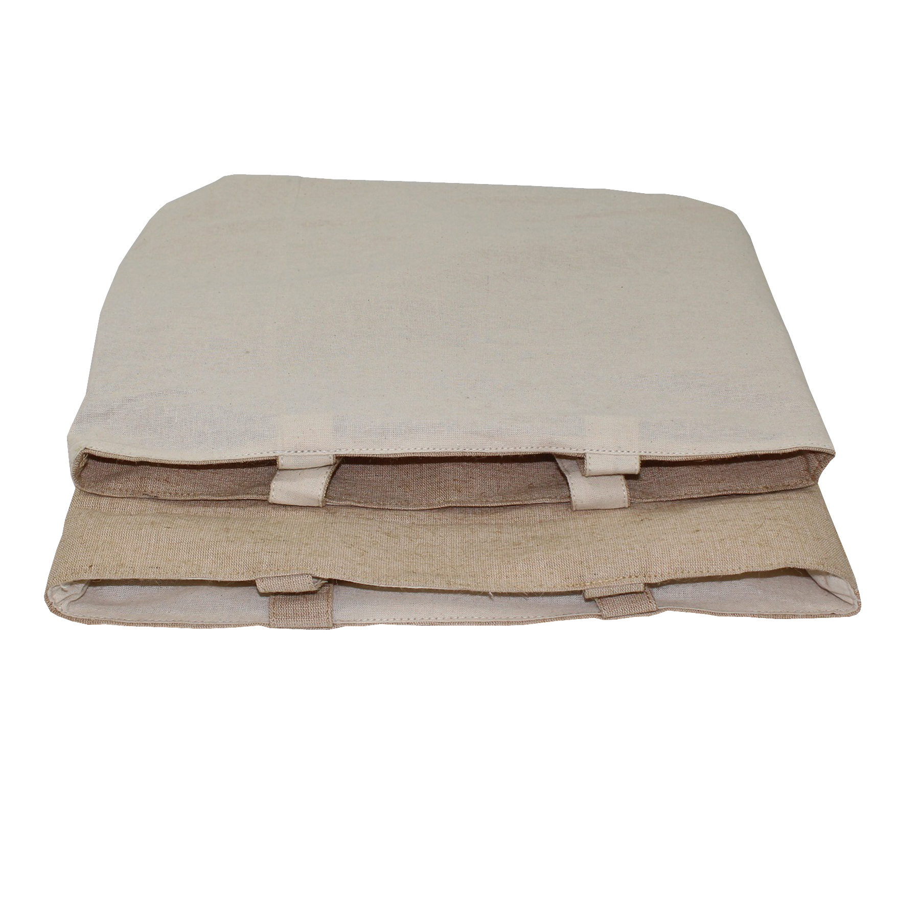 Natural Cotton Reversible Tote Bag