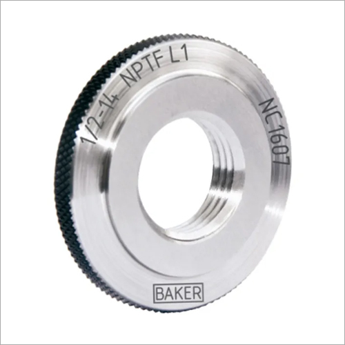 Baker NPTF Taper Thread Ring Gauge