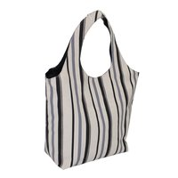 12 Oz Natural Canvas  / Dyed White Jute Hobo Bag With Inside Lining