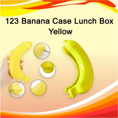 Banana Case Lunch Box Yellow