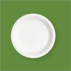 9 Inch Round Plate Bagasse