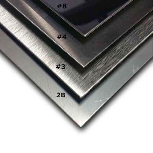Stainless Steel Sheet- Mirror Finish