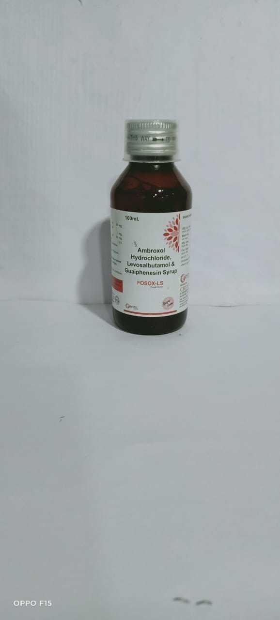 Levosulbutamol Ambroxol Guaifenesin Syrup