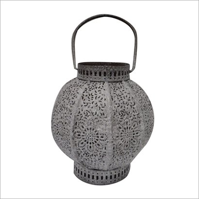 Artificial Metal Candle Holder