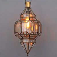 Brass Candle Holder Lantern