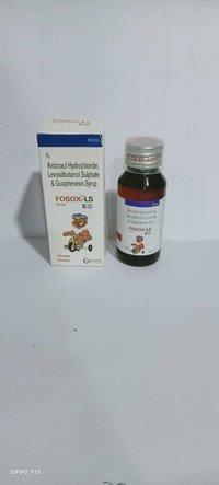 Ambroxol 15mg+levosalbutamol 0.5mg+ Guaiphensin 50mg
