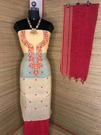 khadi cotton suit