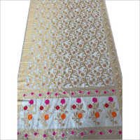 Embroidered Nylon Saree