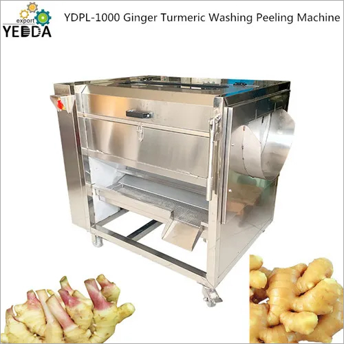 Ginger Turmeric Washing Peeling Machine