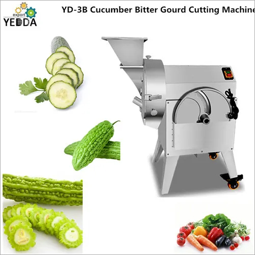 Cucumber Bitter Gourd Cutting Machine