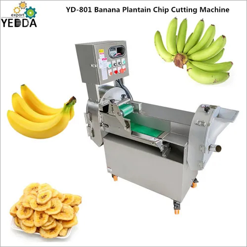 Banana Plantain Chip Cutting Machine