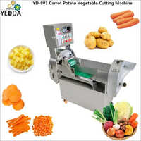 Carrot Potato Vegetable Cutting Machine