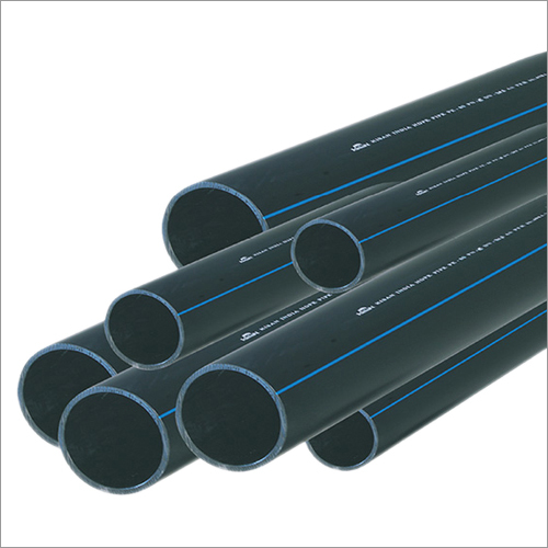 20 mm Black With Blue HDPE Pipe