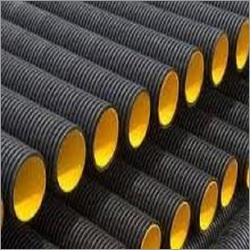 Double Wall Corrugated Hdpe Pipes Application: Telecoms Companies