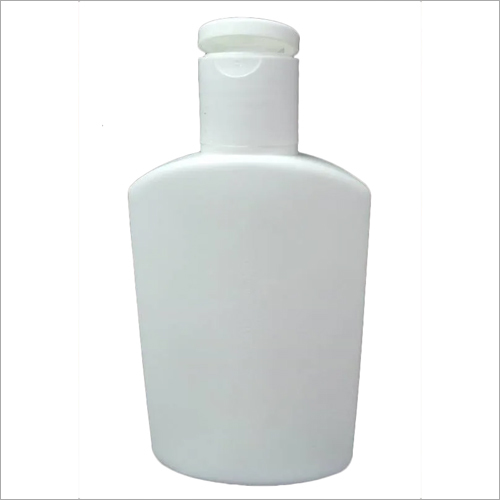100 ml HDPE Flat Bottle With FTC