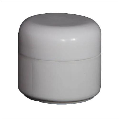 50 Gm White HDPE Cream Jar