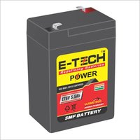 ERC E-TECH POWER  6V 6.5AH Weighing Machine 6 Month