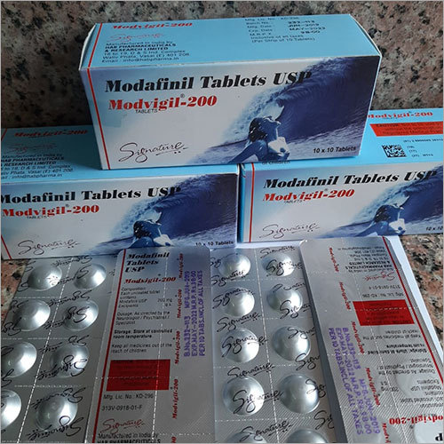 Modafinil 200 Mg Tablets