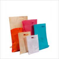 D Cut Plain Non Woven Bags