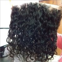 Raw unprocessed curly 360 frontal  ,from India
