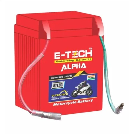 ERC E-TECH ALPHA 3LC Kick Start Motorcycle