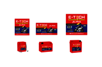 ERC E-TECH ALPHA 3LC Kick Start Motorcycle