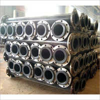 Rubber Lined Steel Round Pipe
