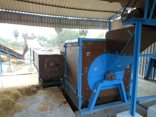 Pollachi Coir Fiber Extraction Machine