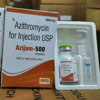 Azithromycin 500mg inj.