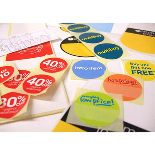 Synthetic Resin PVC Stickers