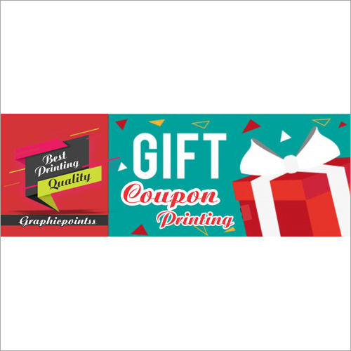 Printed Gift Coupon Stickers