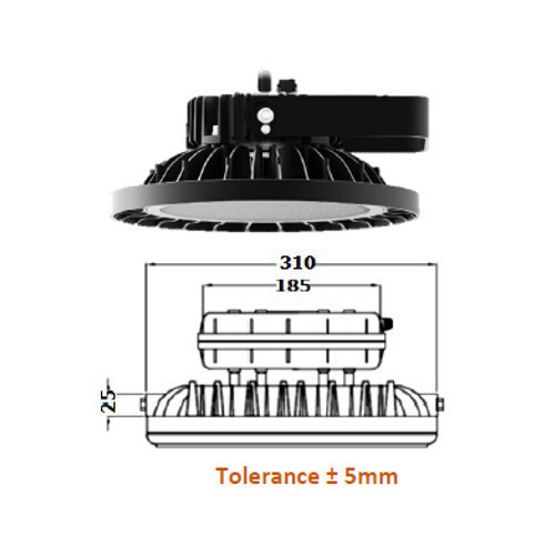 SLE HB 150- COMET II LED High Bay Light