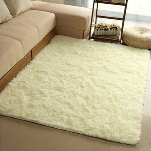 Bedroom Plain Cotton Carpets