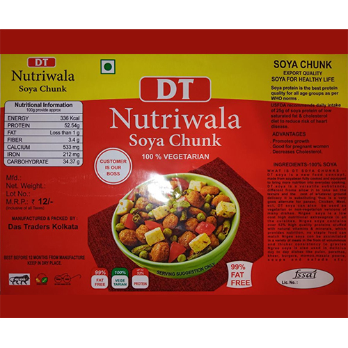 Nutriwala Soya Chunk Packaging Bags