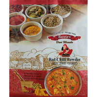 Red Chilli Powder Packaging Bags