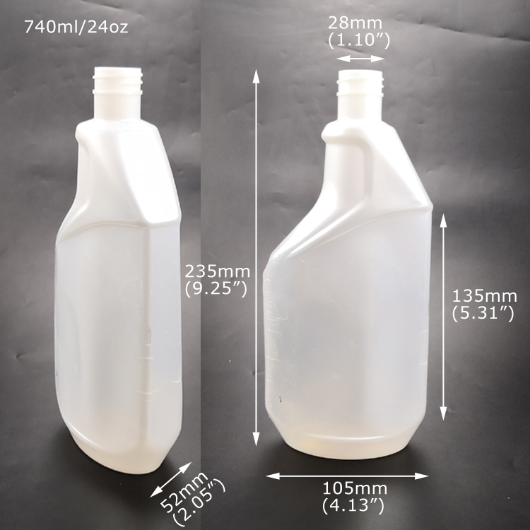 Plastic Toilet Cleaner Bottle