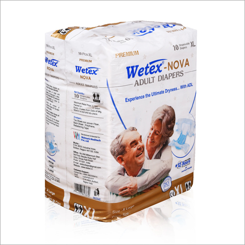 Wetex X Large Nova Adult Diapers