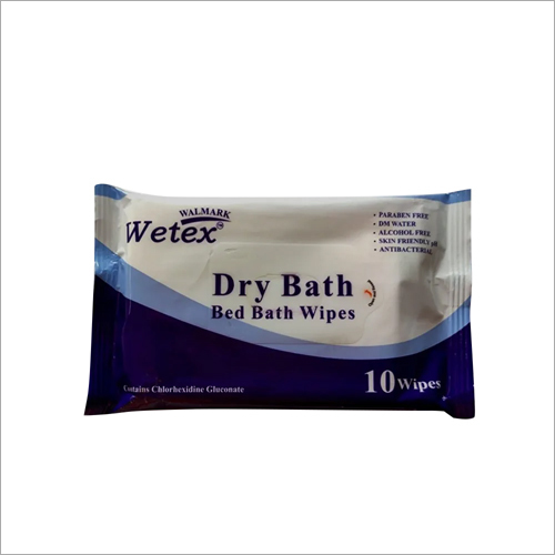 Dry Bath Bed Bath Wipes