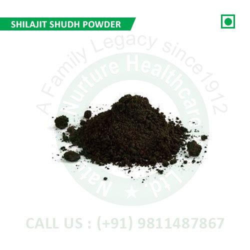Shilajit Shudh Powder (Shudh Shilajit Powder, Shudh Powder Asphantum, Ntaural Pitch)