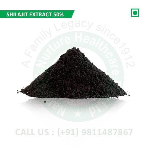 Shilajit Extract 50% (Pure Shilajit Extract, Shudh Shilajit Extract, Extract Asphantum)
