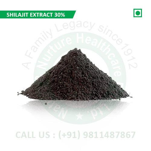 Shilajit Extract 30% (Pure Shilajit Extract, Shudh Shilajit Extract, Extract Asphantum)